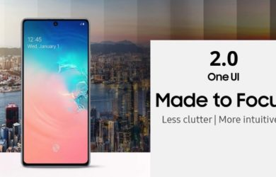 Samsung Galaxy S10 Lite One UI 2.1
