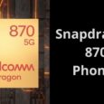 Snapdragon 870 5G Phones